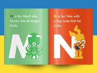 Squiggle Park Book Spread