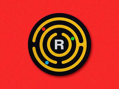 Identity Concept Coaster logo agency art direction branding texture nostalgia illustration bright maze coaster