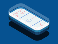 Isometric Hockey Rink