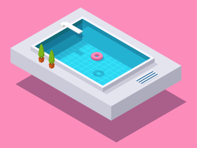 Isometric Swimming Pool