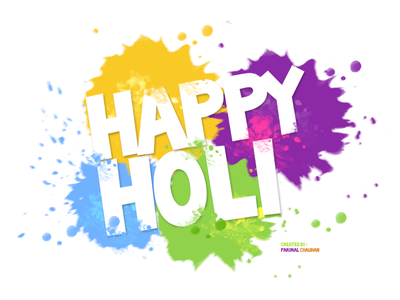 Happy Holi !!