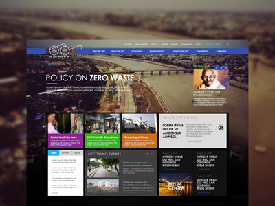 Mahatma gandhi swachhata mission - Website Design