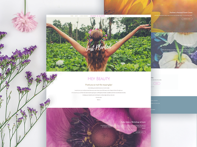 Beauty & Bloom Website Design