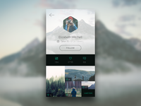 Photo App: Profile Page [.sketch]