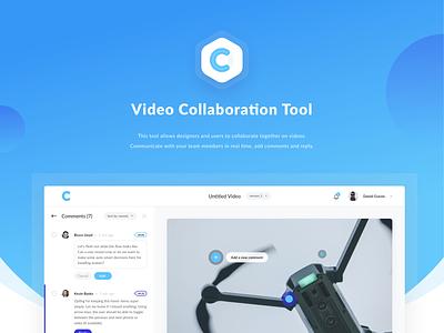 Video Collaboration App web app video app video tool chart collaboration app education team video player collaboration dashboad