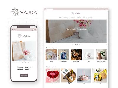 Gift Shop - E-Commerce website islamic gift store gift shop shopify theme shopify store eccomerce ux uiux ui clean ui minimal website design minimal website website design