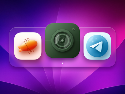 Desktop app icons icon vector design branding app icons ui ux illustration
