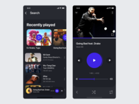 Tunevolved video player Dark version