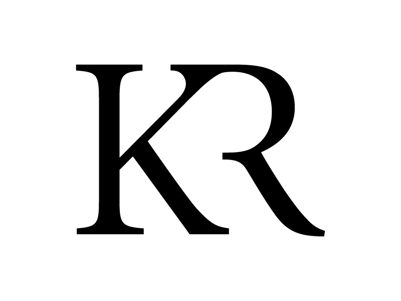 kr logo by kevin rosal dribbble