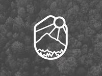 Daily logo challenge Day 8 - Mountain logo