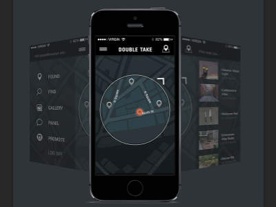 Preview | landing page app prototype wireframe behance boston map