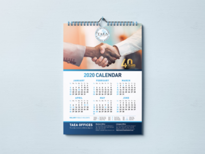 Calendar design packaging adobe ui ux businesscard branding flat logo identity corporate illustration psd photoshop illustrator vector mockup advertising graphic design calendar