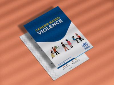 Gender Based Violence ux information architecture template art clean flat gender united nations photoshop illustrator vector mockup graphic design flyer illustration poster leaflet
