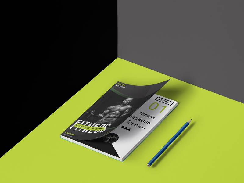 Sports Magazine magazine design vector template typography a4 paper fitness branding design poster design psd illustration photograhy photoshop ui mockup brochure flyer poster magazine