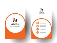 Mistfire Business Card