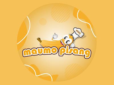 logo pisang design vector branding logo