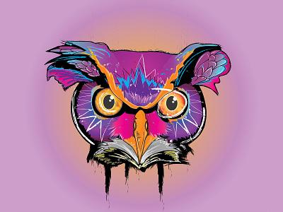 owl ilustration design artistic art ilustrator owl illustration