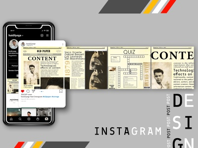 -INSTAGRAM-post tipography photoshop instagram post ilustrator design
