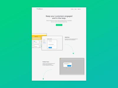Wrkflows marketing widget no code chat help web web app marketing