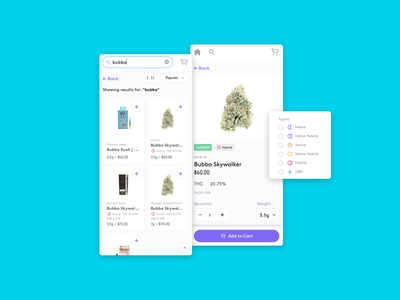Dispense e-commerce search and filter cannabis dispensary software dispensary management dispensary dispense marijuana weed filter search