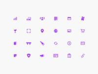 Tablelist icons