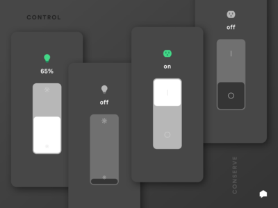 Control your devices with the Sense app home control ui mobile electricity energy sense iot smart home