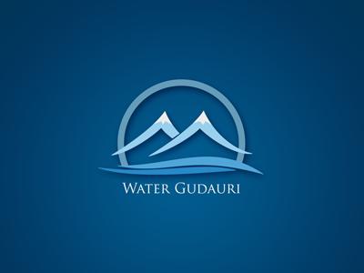 Gudauri Water advertising brand identity branding corporate identity logo design packaging