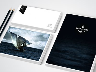 Sea factor applications branding corporate identity packaging print design web interface design websites