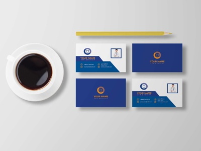 Business card design business flyer logo design branding