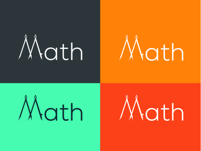 Modern math logo design vector photoshop ui illustration logo