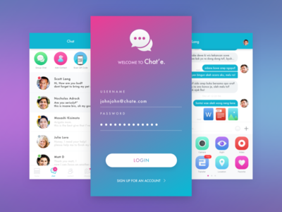 Chat and Pay App