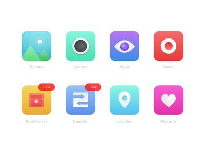Icon Design For Chat and Pay  color idea simple illustration sketchapp design icon app chat