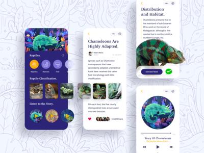 Bunglon Animal Conservation Mini App on Wechat