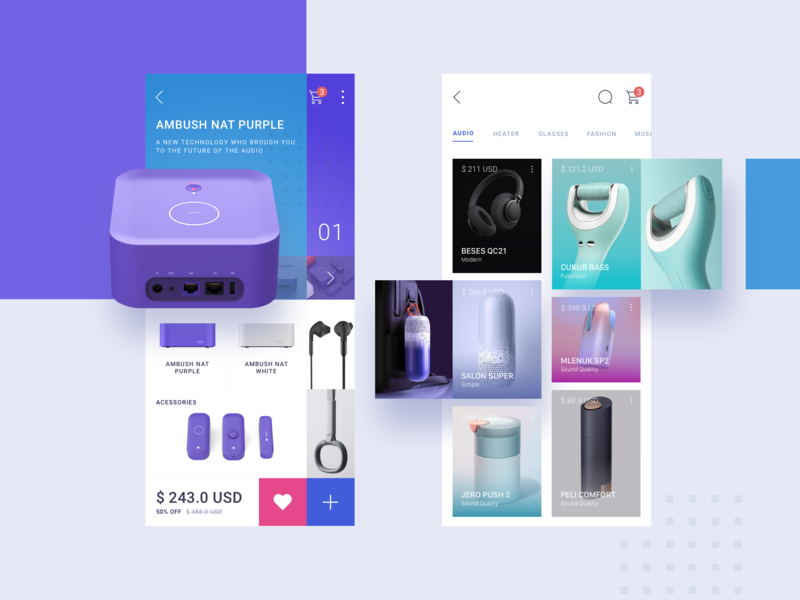 UNIQSHOP APP - UI dashboard flat page designs icon branding typography ux ui app illustration design