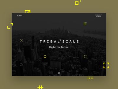 TribalScale Rebrand Landing Page
