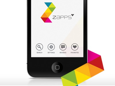 App Design ZAPPS iphone icons application ios layout iphone app splash screen ui design