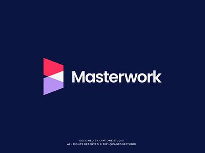 Masterwork Modern Logo Design ui vector minimal logofolio logodesigner logo design graphicdesign freelancer logo graphic design logo design creative logo business logo branding brand identity brand guidelines brand guide behance