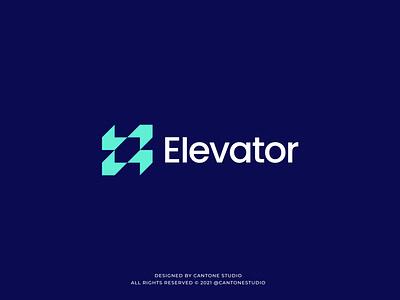 Elevator Modern Logo Design modern logo minimalist logo ui vector minimal logofolio logodesigner logo design graphicdesign freelancer logo graphic design logo design creative logo business logo branding brand identity brand guidelines brand guide behance