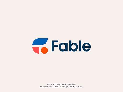 Fable Modern Logo Design modern logo minimalist logo vector ui minimal logofolio logodesigner logo design graphicdesign freelancer logo graphic design design logo creative logo business logo branding brand identity brand guidelines brand guide behance