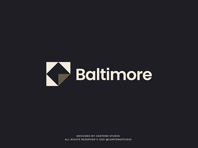 Baltimore Modern Logo Design modern logo minimalist logo vector ui minimal logofolio logodesigner logo design graphicdesign freelancer logo graphic design logo design creative logo business logo branding brand identity brand guidelines brand guide behance