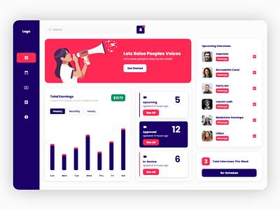 Dashboard Design adobe xd web web app dashboard design uiux web design dashboard user experience user interface ux ui