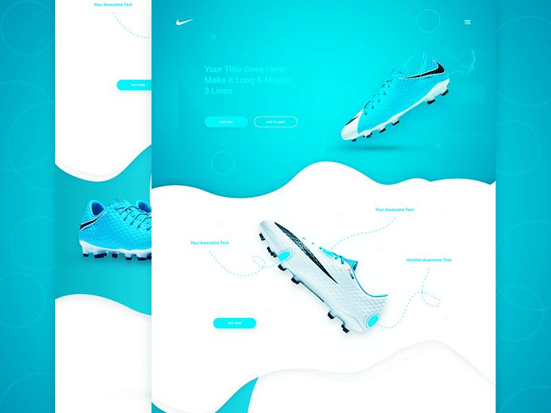 Freebie – Shoe Landing Page
