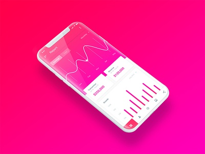 Dashboard Design For Mobile user interface user experience ux mobile app design ui iphone x mobile iphone dashboard