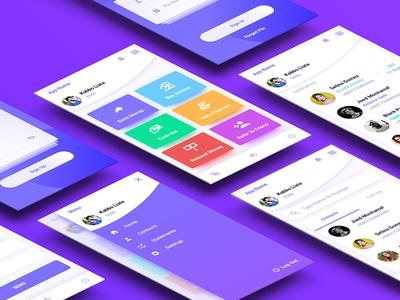 Local Payment App user interface mobile app design adobe xd finance design designapp experienceandroid user ux ui 2018