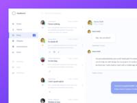 Client Inbox Design (Adobe XD)