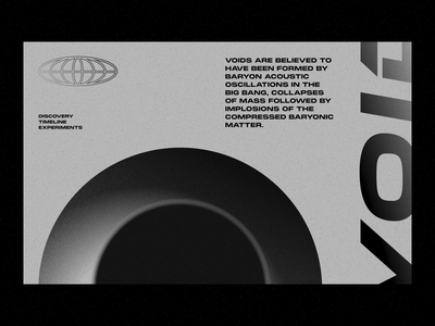 Void 002 blackandwhite sweden minimal dailyui vector logo website landing page web typography minimalistic
