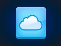 iCloud Icon (.psd)