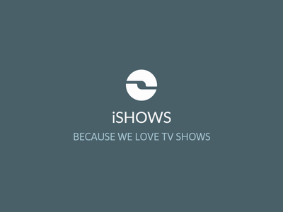 New iShows logo logo app iphone