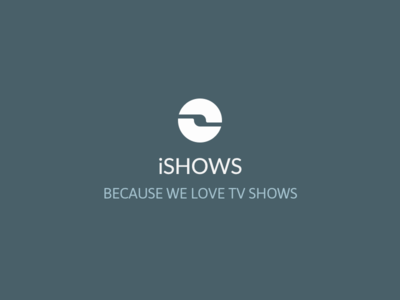 New iShows logo logo app iphone