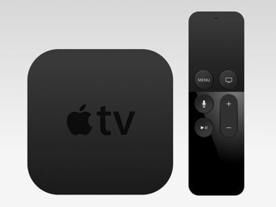 Apple Tv + Remote remote freebie sketch appletv